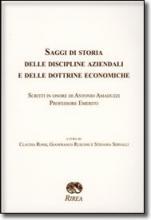 Saggi di Storia delle Discipline aziendali delle Dottrine economiche scritti in onore di Antonio Amaduzzi